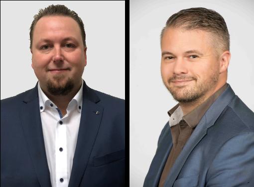 Alexander Dekker (links) - Remco de Haas (rechts)